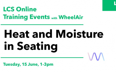 LC Seating and WheelAir present Heat and Moisture in Seating